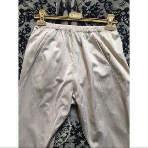 Zero + Maria Cornejo Baggy Drop Crotch Harem Pants